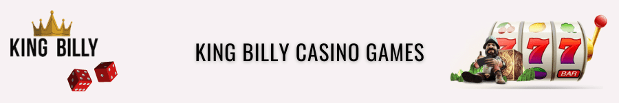 king billy casino games and software