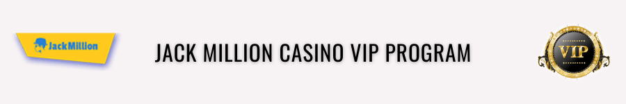 jackmillion casino vip
