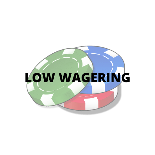 low wagering casino